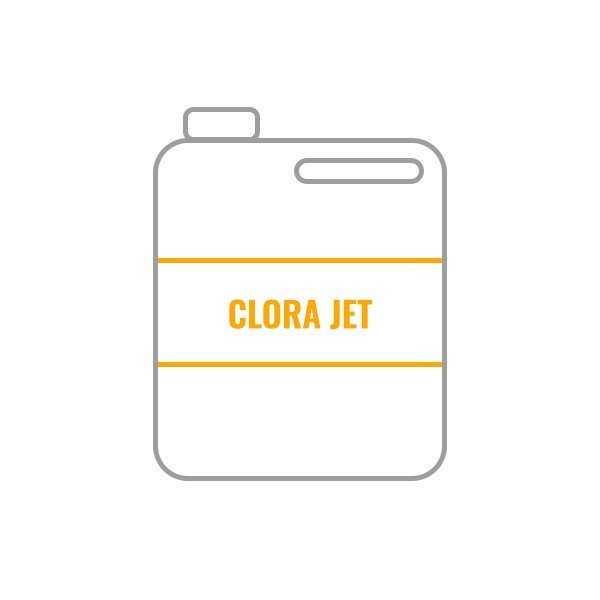 Bidón 5L Desengrasante + Desinfectante CLORA JET