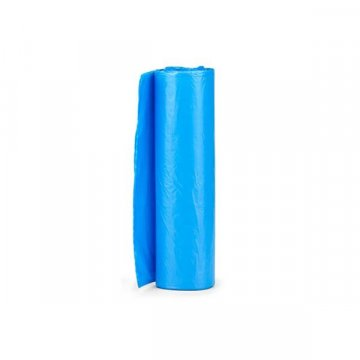 Pack 1250 Bolsas Basura Azules. Galga 60. Medidas 52x60CM.