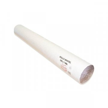 Rollo Mantel Papel 100M BLANCO