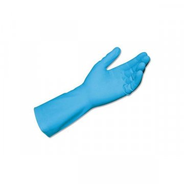 Pack 10 Guantes Látex Azul...