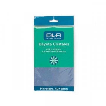 Pack 24 bayetas microfibra azul 40x38 cm. Especial cristales.