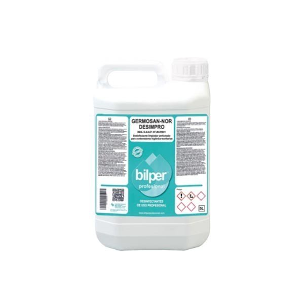 Bidón 5L Desinfectante Contenedores Higiénicos