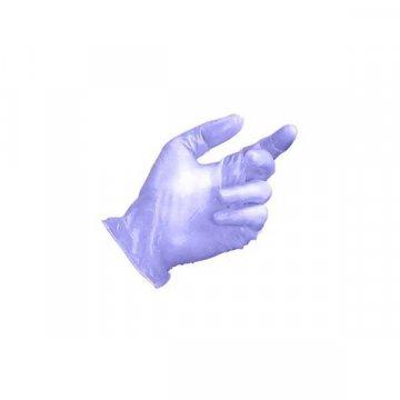 Pack 1000 Guantes Vinilo Azul Sin Polvo. Talla S.
