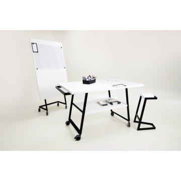 Mesa Manual Thinking con Ruedas 120x100x75cm